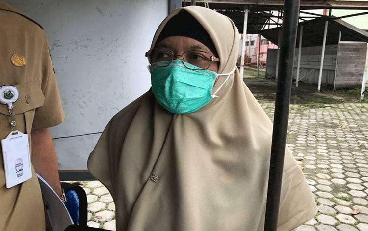 Kabid Pencegahan dan Pengendalian Penyakit Dinkes Kapuas dr Tri Setya Utami