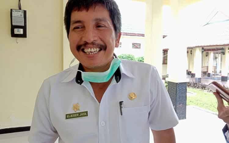 Kepala Disperindagkop Kabupaten Pulang Pisau, Elieser Jaya