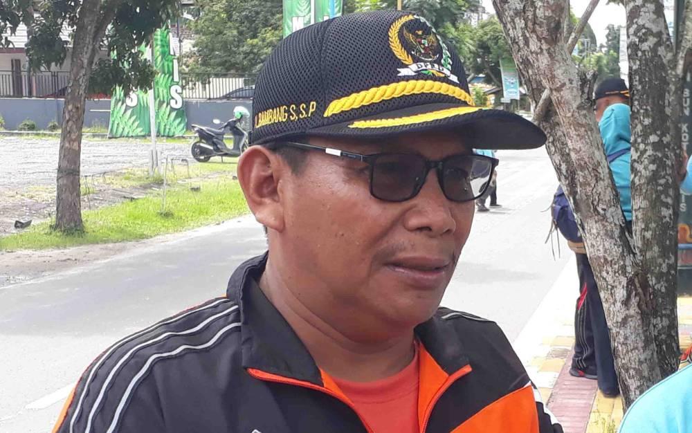 Wakil Ketua I DPRD Kotawaringin Barat, Bambang Suherman.