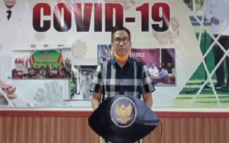 Ketua Gugus Tugas Covid-19 Pemprov Kalteng Leonard S Ampung