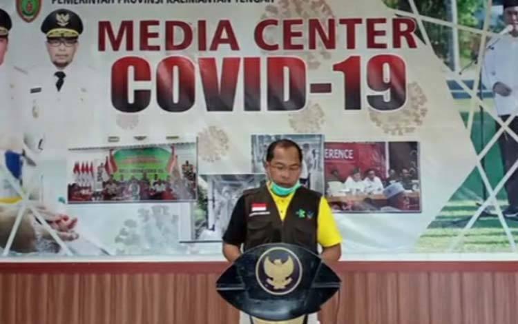 Kepala Dinas Kesehatan Provinsi Kalimantan Tengah, Suyuti  Syamsul.