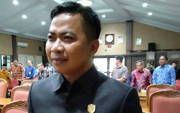 Anggota Komisi III DPRD Kotim, Riskom Fabiansyah.