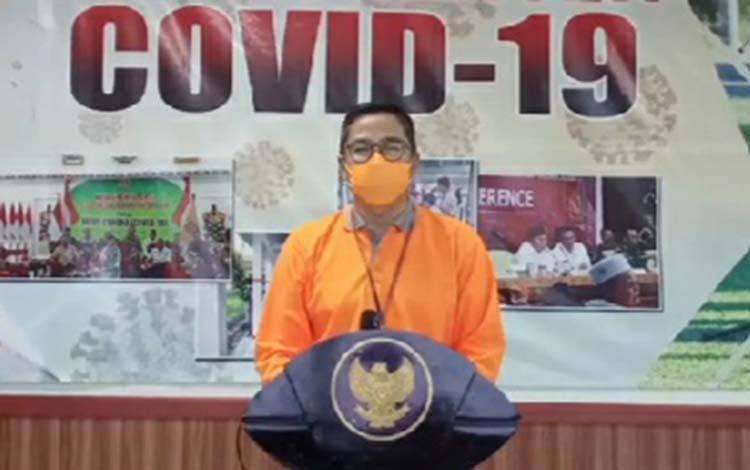 Ketua Gugus Tugas Covid-19 Provinsi Kalimantan Tengah, Leonard S Ampung