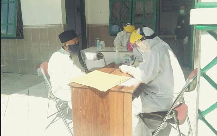 Warga berstatus ODP di Lamandau ikut rapid test