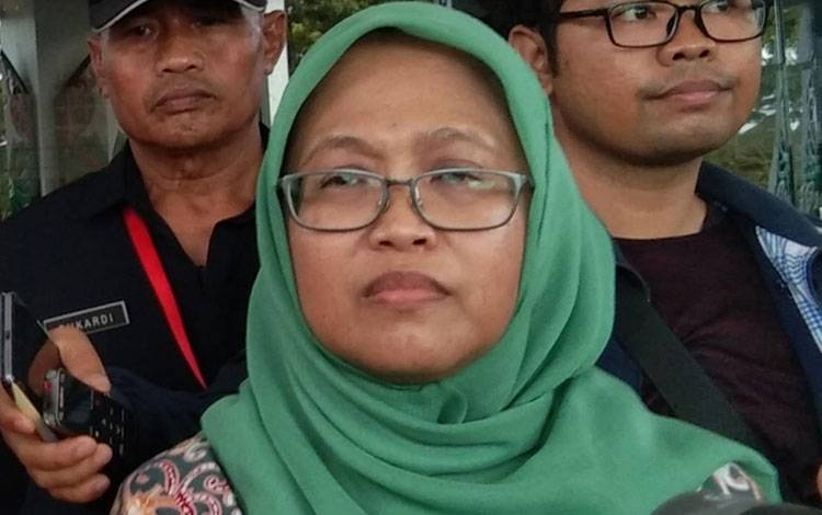 Direktur RSUD Doris Sylvanus Palangka Raya Yayu Indriaty