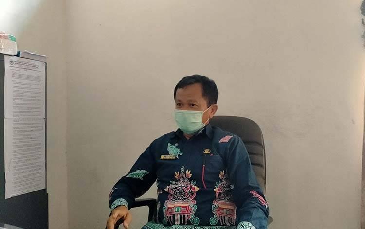 Plt Kepala Dinas Transmigrasi, Tenaga Kerja Koperasi dan UKM Kabupaten Gunung Mas, Sudin.