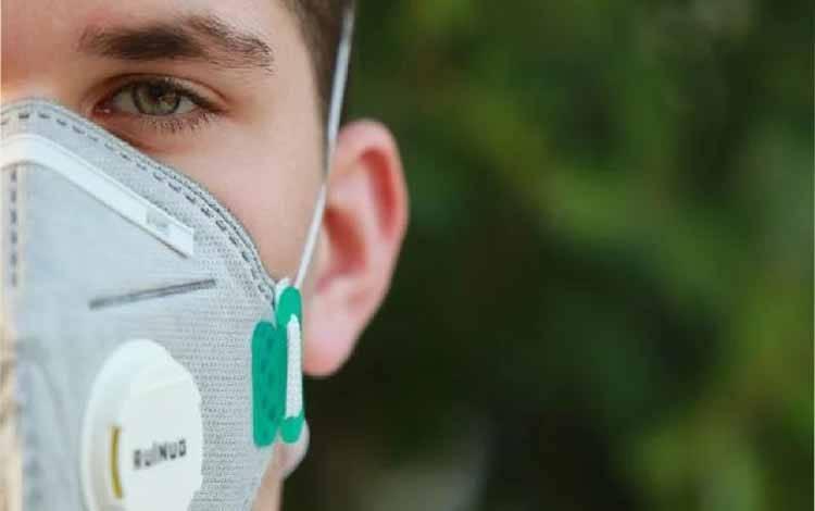 Ilustrasi masker karbon (Pixabay.com)