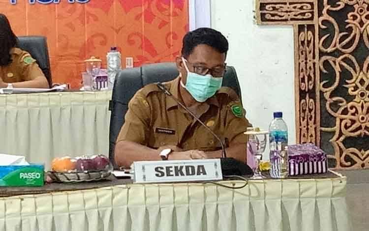 Pj Sekda Kabupaten Pulang Pisau, Saripudin.