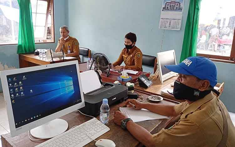 Dinas Perdagangan Akan Siapkan Pos Pemeriksaan Suhu Tubuh di Pasar Tamiang Layang