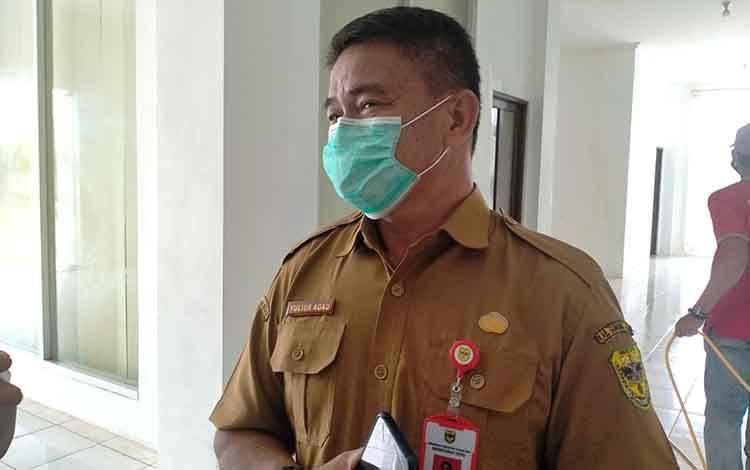 Sekretaris DPRD Gunung Mas Yulias Agau