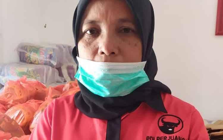 Anggota DPRD Kobar Siti Mukaromah