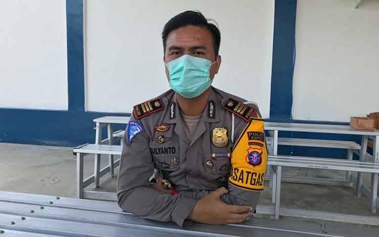 Kasat Lantas Polres Kapuas AKP Zulyanto L. Kramajaya