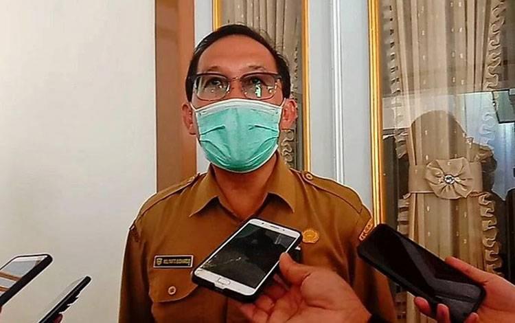 Juru Bicara Gugus Tugas Percepatan Penanganan Covid-19 Kabupaten Pulang Pisau dr Muliyanto Budihardjo