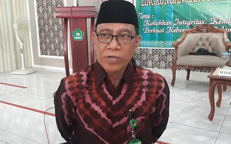 Kepala Kemenag Kapuas H Ahmad Bahruni