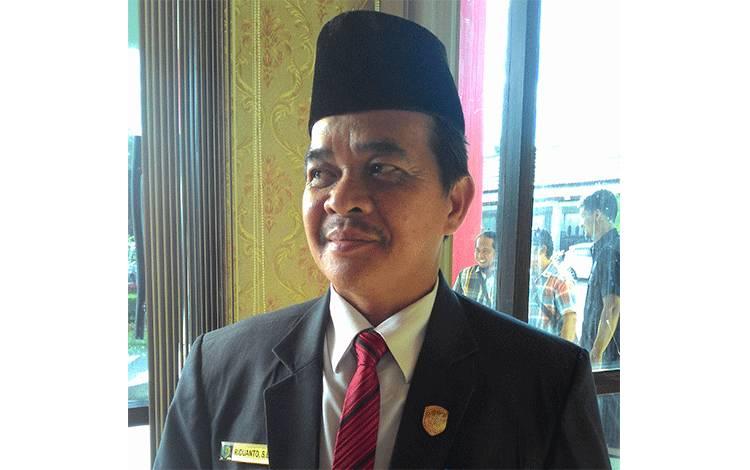 Anggota Komisi C DPRD Kota Palangka Raya, Riduanto.