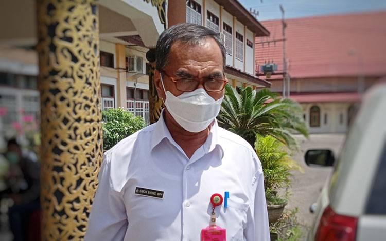Koordinator Bidang Pencegahan Gugus Tugas Percepatan Penanggulangan Covid-19 Kabupaten Barito Timur, Simon Biring