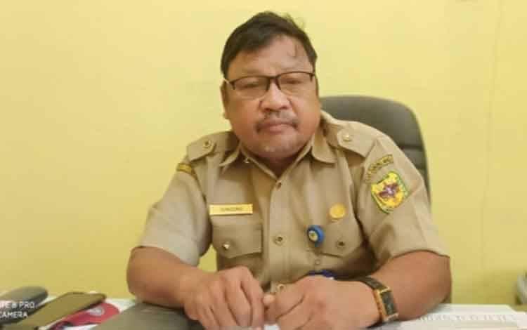Plt Kepala Dinas Pendidikan, Kepemudaan dan Olahraga Kabupaten Gunung Mas, Singong.