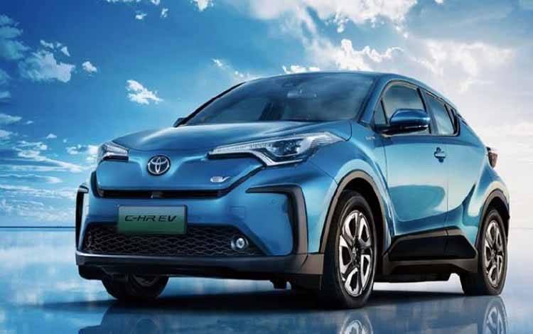 Toyota C-HR EV (juga disebut Toyota IZOA EV) hasil kerja sama dengan GAC meluncur di Cina mulai 22 April 2020. (GAC-Toyota)