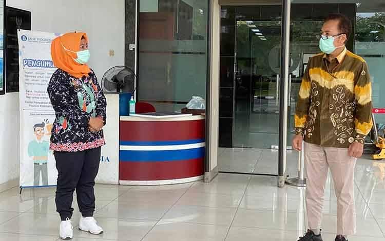 Kepala Kantor Perwakilan Bank Indonesia Provinsi Kalimantan Tengah, Rihando.
