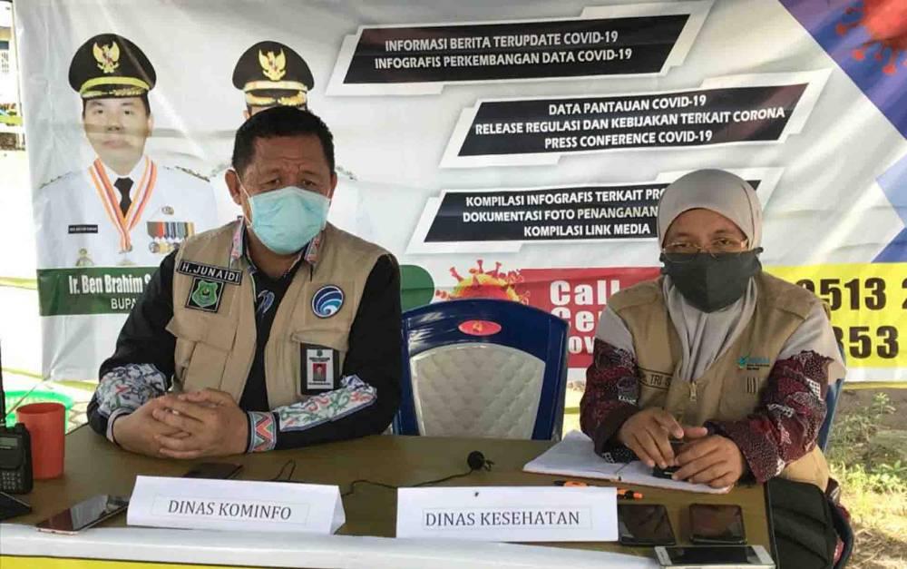 Juru Bicara Gugus Tugas Percepatan Penanganan Covid-19 Kapuas, H Junaidi.