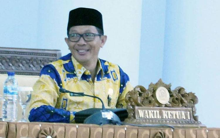 Wakil Ketua DPRD Kabupaten Seruyan Bambang Yantoko