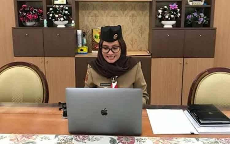 Ketua Kwartir Daerah Gerakan Pramuka Provinsi Kalimantan Tengah, Yulistra Ivo Sugianto Sabran.