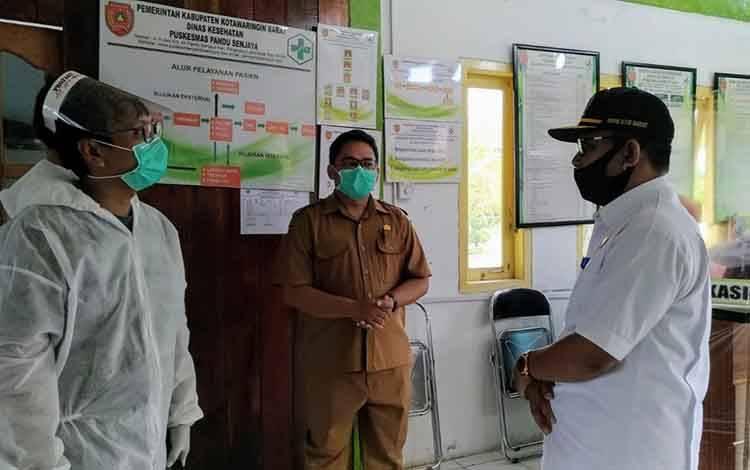 Wakil Ketua II DPRD Kobar, Bambang Suherman motoring ke Kecamatan Pangkalan Lada