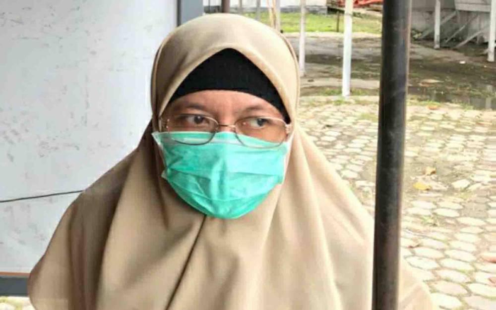 Juru Bicara Dinas Kesehatan Kabupaten Kapuas, dr Tri Setyautami.