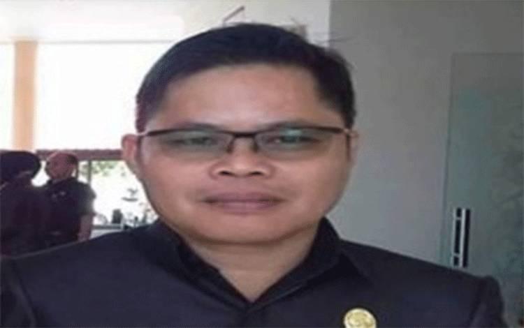 Sekretariat Gugus Tugas Penanganan Covid-19 yang juga Kepala BPBD Katingan Eka Suryadilaga.