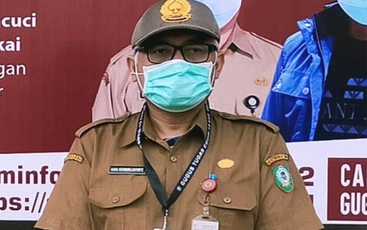 Kepala Dinas Kesehatan Kotim Faisal Novendra Cahyanto