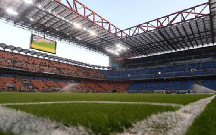Stadion Giuseppe Meazza di San Siro, Milan. Reuters