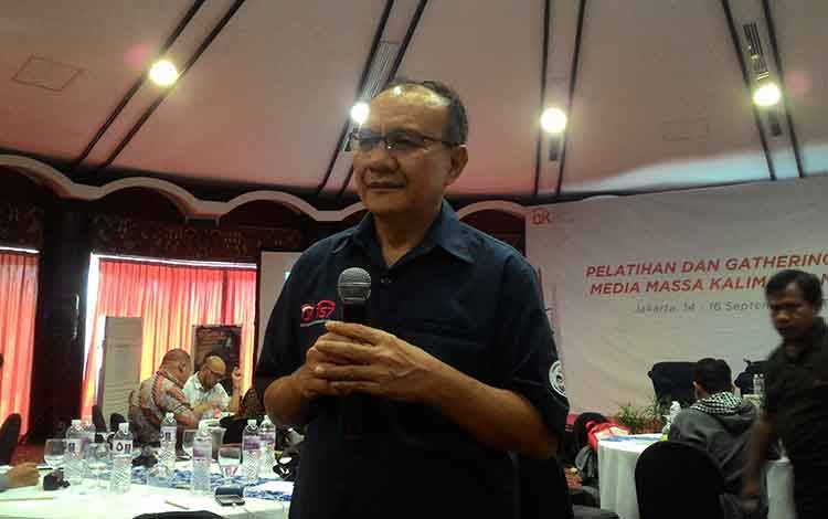 Ketua Satgas Waspada Investasi, Otoritas Jasa Keuangan atau OJK, Tongam L Tobing.  (foto : dokumentasi)
