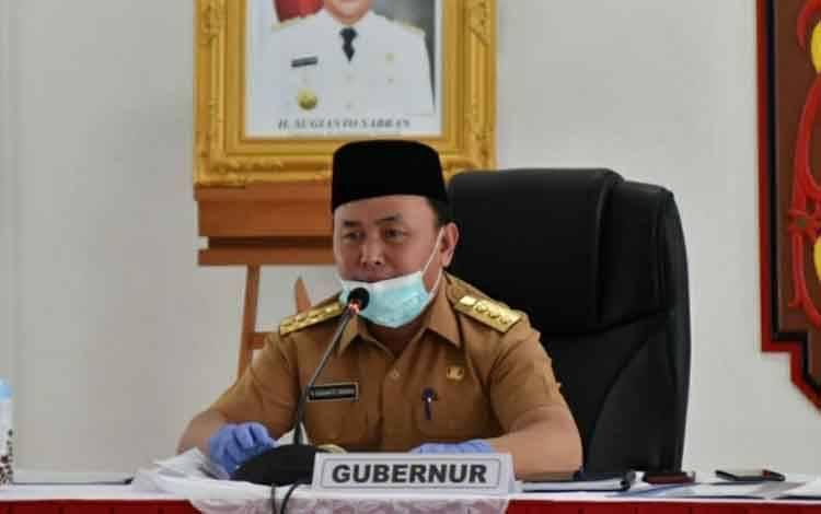 Gubernur Kalimantan Tengah H Sugianto Sabran