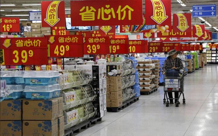 Kuartal III, Ekonomi Cina Tumbuh 6,9 Persen