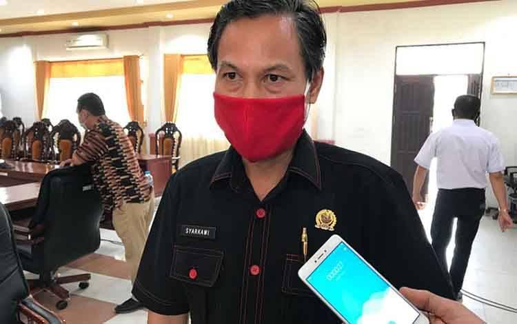 Ketua Pansus DPRD Kapuas Pengawas Anggaran Covid-19, Syarkawi H Sibu.
