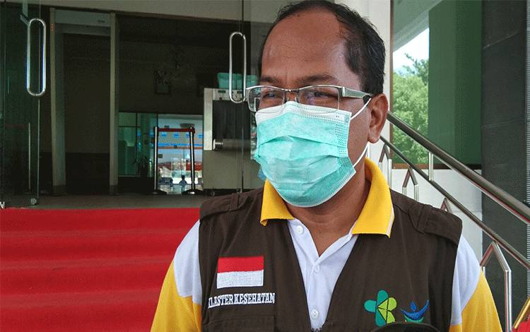 Kadinkes Provinsi Kalimantan Tengah Suyuti Syamsul