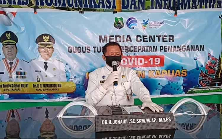 Kepala Dinas Kominfo Kapuas,Junaidi