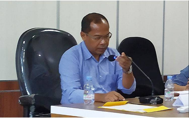 Kepala Dinas Kesehatan Provinsi Kalimantan Tengah Suyuti Syamsul.