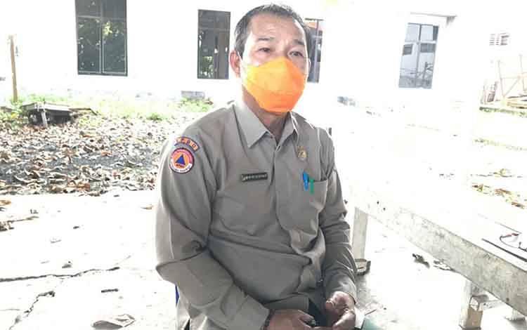Ketua Harian Gugus Tugas Covid-19 Kabupaten Kapuas, Panahatan Sinaga