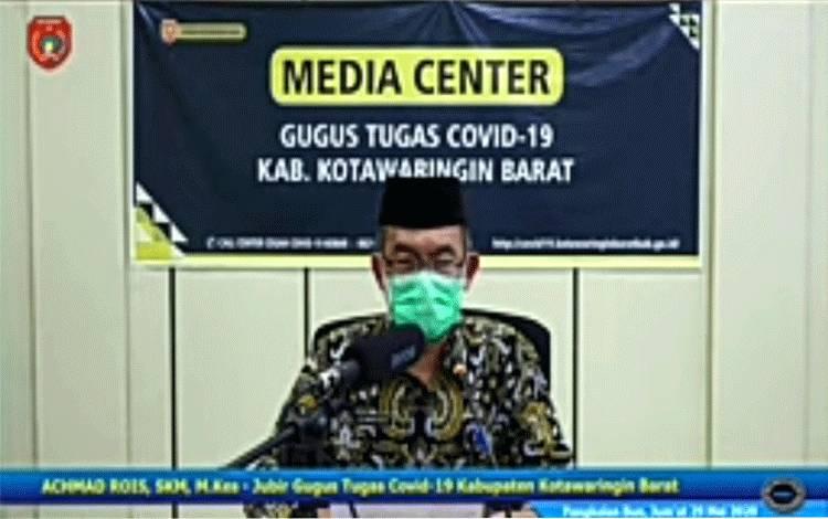 Jubir Tim Penaganan Covid-19 Kobar Achmad Rois