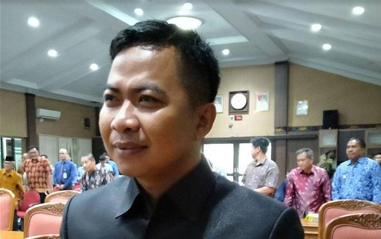 Anggota DPRD Kotim Risikon Fabiansyah.