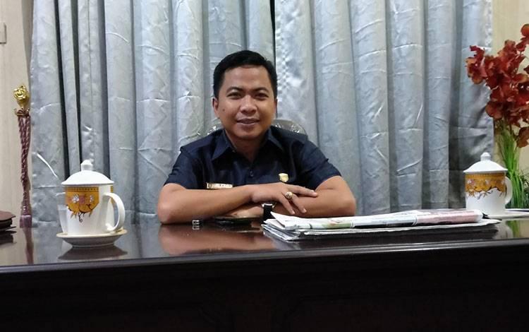 Anggota DPRD Kotim Riskon Fabiansyah.