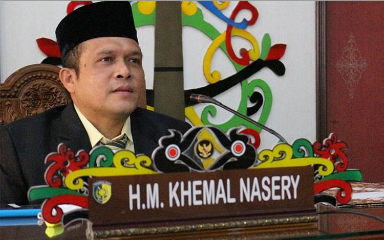 Anggota Komisi B DPRD Kota Palangka Raya HM Khemal Nasery.