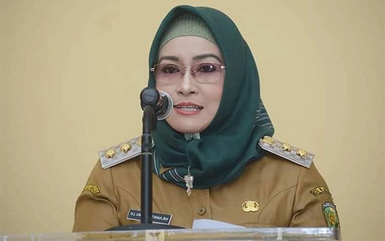 Wakil Wali Kota Palangka Raya, Hj Umi Mastikah.