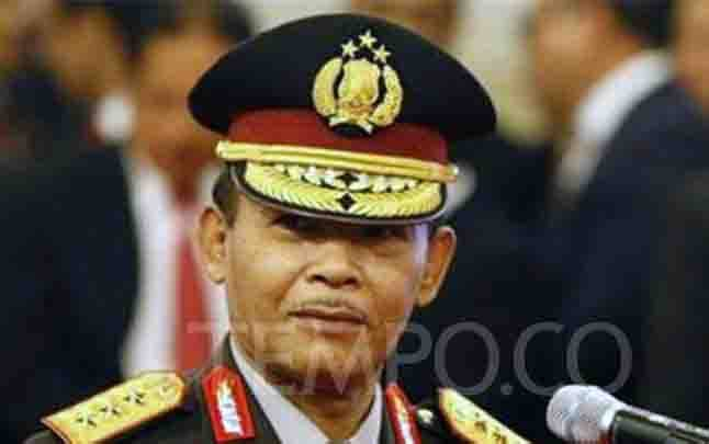 Kapolri Jenderal Pol Idham Azis saat pelantikan. (foto : tempo.co)