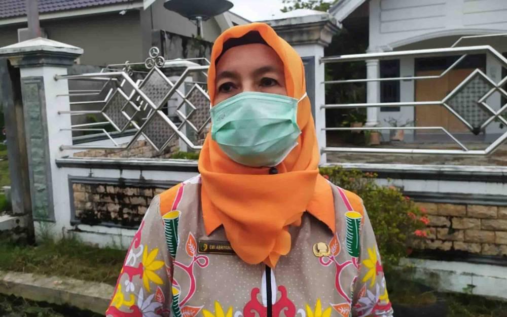 Ketua Gugus Tugas Percepatan Penanganan Covid-19 Palangka Raya, Emi Abriyani.