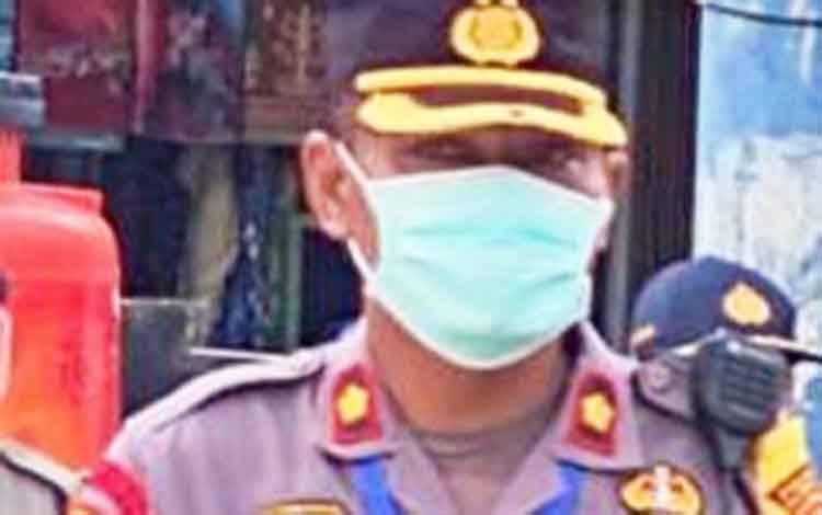 Kabagops Polresta Palangka Raya Kompol Hemat Siburian