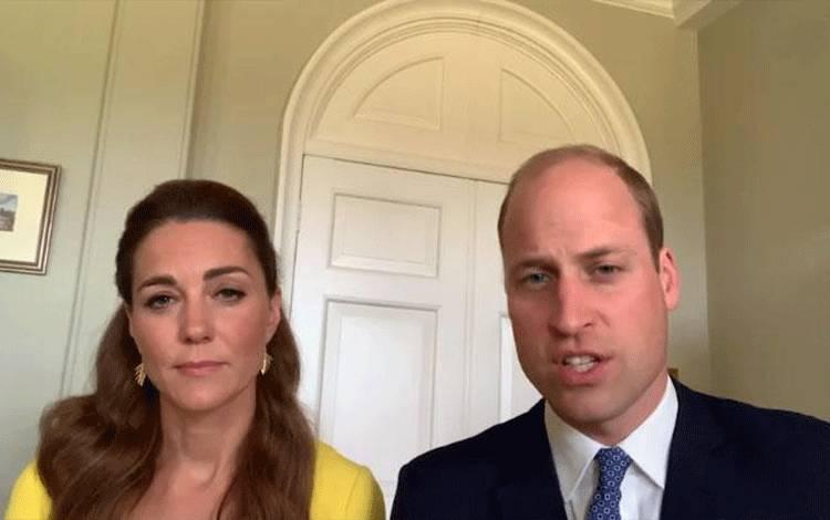 Kate Middleton dan Pangeran William (Tangkapan layar)