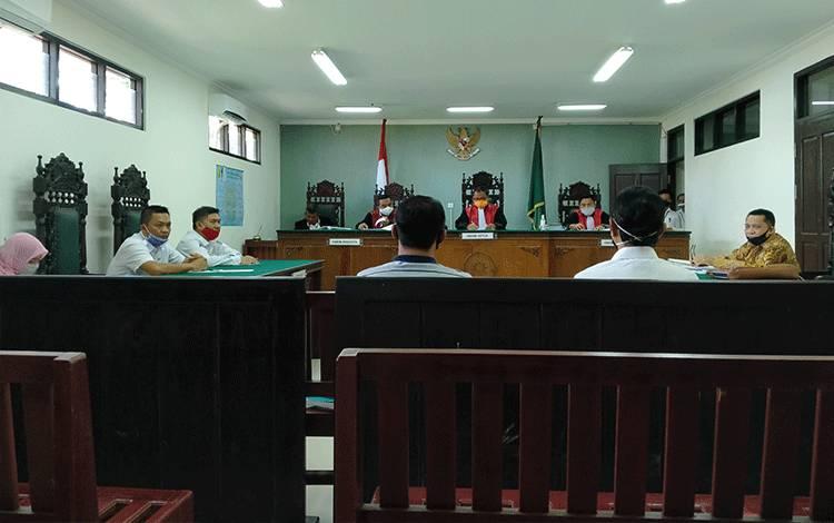 Sidang perdata wanprestasi Pemkab Seruyan melawan PT Surya Adhi Perkasa.