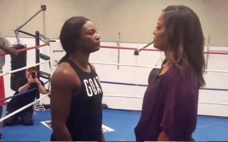 Claressa Shields dan Laila Ali. (boxingscene.com)
